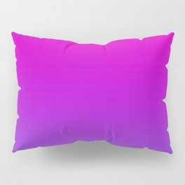 Pink and Purple Ombre Pillow Sham