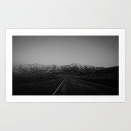 Arthurs Pass Highway Art Print