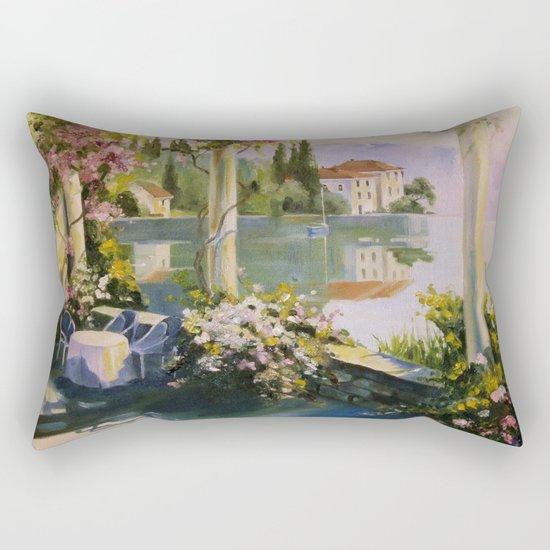 Italian veranda Rectangular Pillow