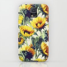 Sunflowers Forever Slim Case Galaxy S5