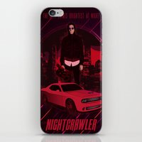 nightcrawler iPhone & iPod Skins featuring Nightcrawler by Anton Yeroma