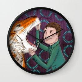 Der Tiger Wall Clock