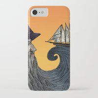 wizard iPhone & iPod Cases featuring Wizard by Brittany Rae