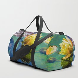 Water lily Duffle Bag