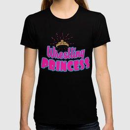 Wrestling Princess Grapple Grappling Wrestler T-shirt