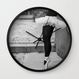 ballerina1 Wall Clock