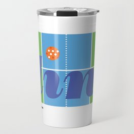 The Pickleball Dink Travel Mug