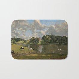 John Constable Wivenhoe Park, Essex 1816 Painting Bath Mat