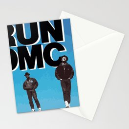 RUN-DMC-1988 Stationery Cards
