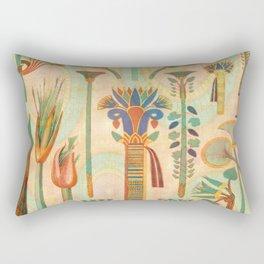 Vintage Egyptian Rectangular Pillow