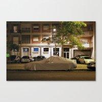 porsche Canvas Prints featuring Porsche by Adam Kencki