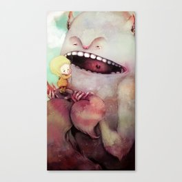 Monster Toothache Canvas Print