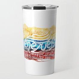Te amo-Me amas Venezuela Travel Mug