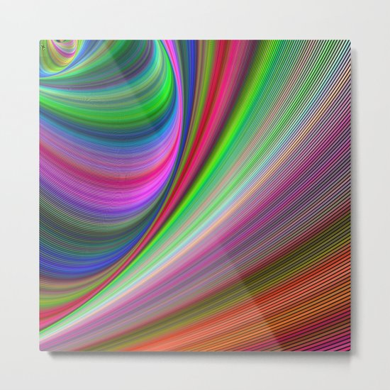 Vivid hypnosis Metal Print