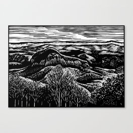Looking Glass Mountain Canvas Print