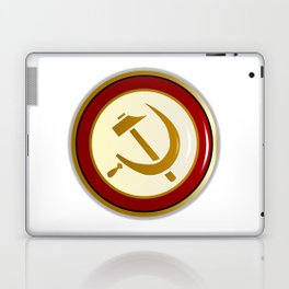 Russian Pin Badge Laptop & iPad Skin