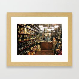 Unknown Faces In Different Places (Pt 5 - Verona, Italy) Framed Art Print