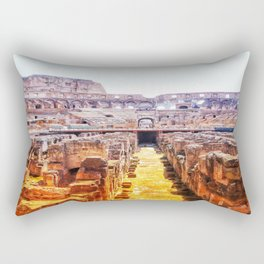 The Lions Den Rectangular Pillow