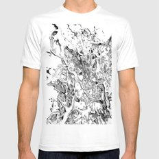 clubhouse White MEDIUM Mens Fitted Tee