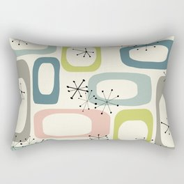 Mid Century Modern Shapes #society6 #buyart Rectangular Pillow
