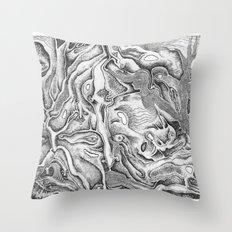 Metamorphose Throw Pillow