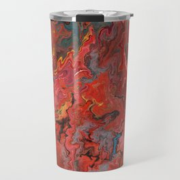 Abstract Oil Painting 5 Travel Mug