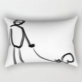 Pet Squirrel Rectangular Pillow