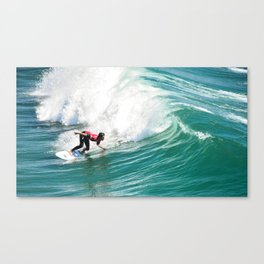 Bottom Turn Canvas Print