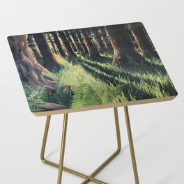 Fern Forest Side Table