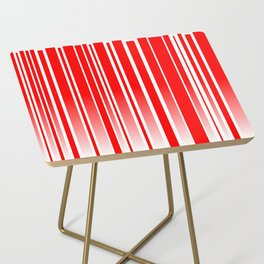 Red Track Side Table