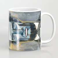 lincoln Mugs featuring Lincoln  by Oliver Dominguez
