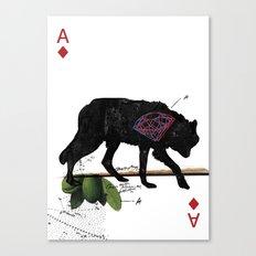 THE CONCLUSIVE ACE Canvas Print