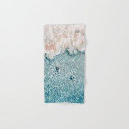 Pink Foam Hand & Bath Towel