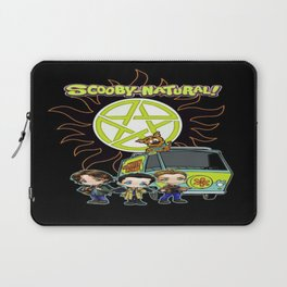 Scoobynatural And The Crew Laptop Sleeve