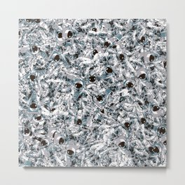 Crowded Space Metal Print