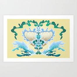 Ocean Shell Art Print