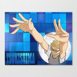 Tsukishima Kei - Haikyuu!! - block Canvas Print