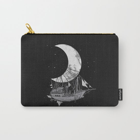 Moon Ship Carry-All Pouch