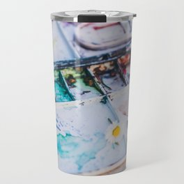 Watercolor Travel Mug