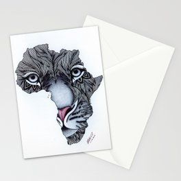 Africa's Heartbeat Stationery Cards