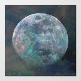 Solstice Moon Canvas Print
