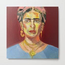 Frida Kahlo Metal Print