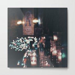 Montserrat Lights Metal Print