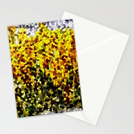 First flowers in last snow ... Stationery Cards