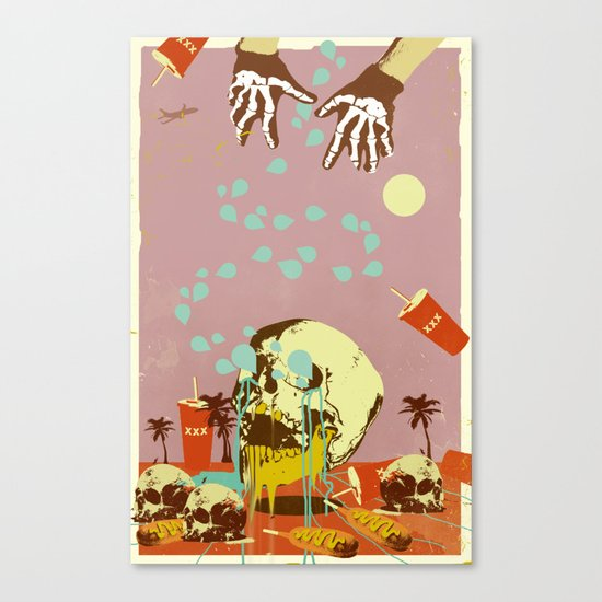 SUMMER SEANCE Canvas Print