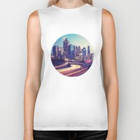 atlanta Biker Tanks featuring Atlanta Downtown by GF Fine Art Photography