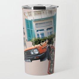 Psychedelic Gemmayzeh - Beirut  Travel Mug
