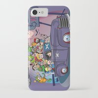 van iPhone & iPod Cases featuring Van by manuvila