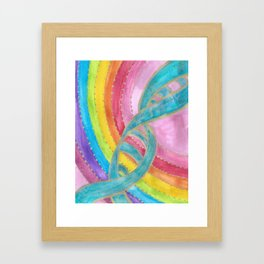 DNA Activated  Framed Art Print