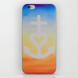 Faith, Hope & Love iPhone Skin